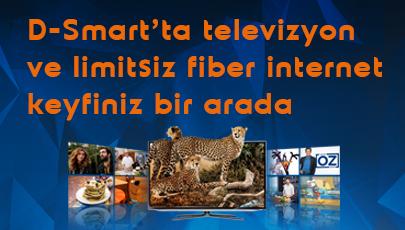 D-Smart Fiber İnternet ve Aile Paketinde Büyük HD Fırsatı!