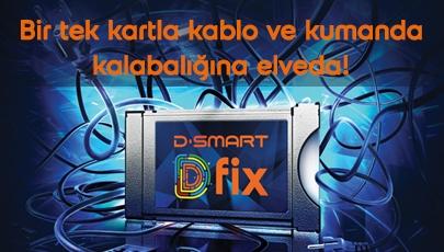 D-Smart D-Fix ile kablo ve kumanda kalabalığına elveda!