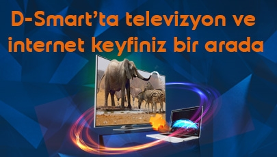 39 TL'ye D-Smart HD Aile ve İnternet Fırsatı!