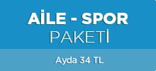 Aile - Spor Paketi